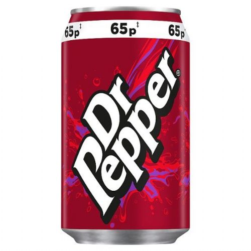 Dr Pepper 330ml PMP  (UK)